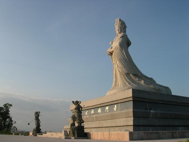 The Goddess Mazu: A statue of Mazu in Kinmen Matsu Park, Quemoy