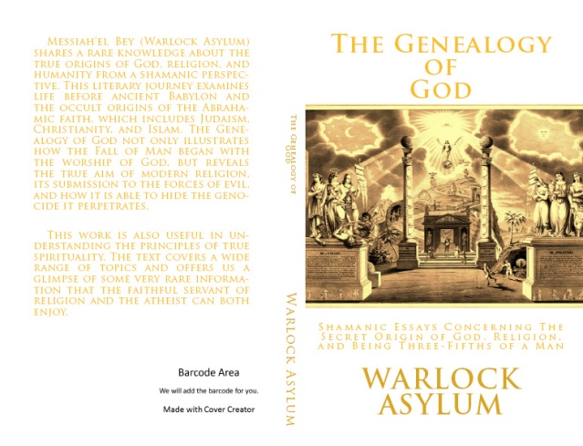 The Genealogy of God by Warlock Asylum is now available on Amazon!