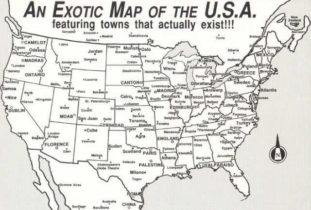 An Exotic Map of the United States Reveals Who Was Here Before