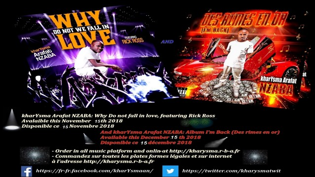 Flyer best of kharYsma et single why do not fall in love