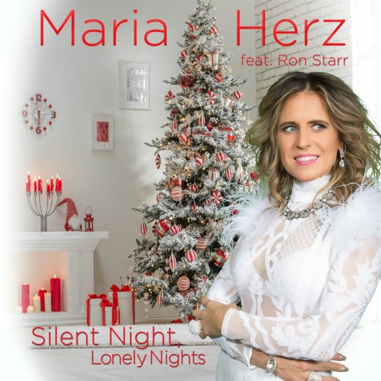 Maria Herz feat Ron Starr - Silent Night Lonely Nights CD Cover